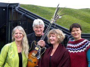 Saga Kvartet - Irene Becker, Pierre Dørge, Betty Arendt, Soma Allpass Foto: Kim Christensen